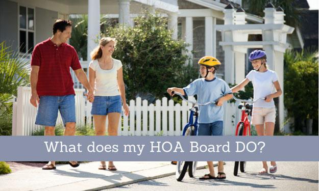 Responsibilities of HOA Board Directors