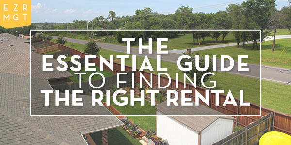 Essential Guide to Finding the Right Rental