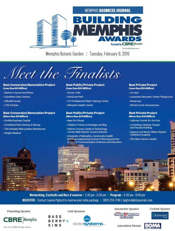 Building Memphis Awards