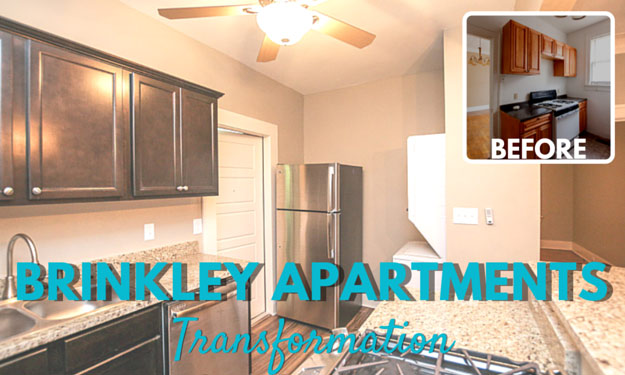 Brinkley Apartments Transformation